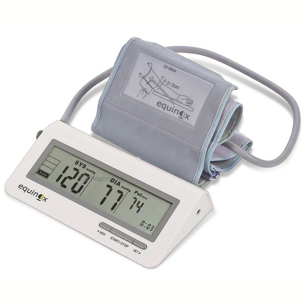 Equinox Digital BP Monitor (60 Recordings | Quick Reading DPDA Tech)
