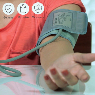 100% genuine portable bp machine (EQ-BP-101) by Equinox India. Comes with a 1 year warranty | heyzindagi.com- an online shop for senior citizens