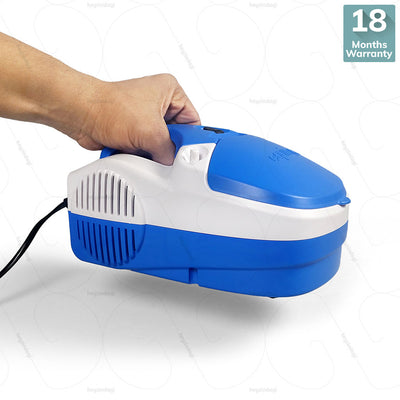 Portable Compressor Nebuliser (EQNB02) by Equinox India