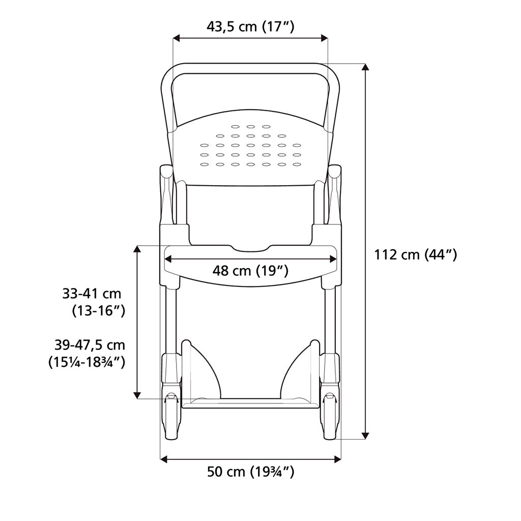 Pleasing Etac Clean Shower Commode Chair With Lockable Castors In Download Free Architecture Designs Scobabritishbridgeorg