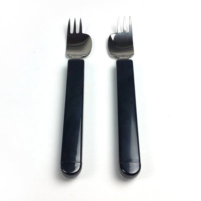 Light Combination Cutlery Knife/Fork Right/Left (ETLCTKF) by  Etac Sweden