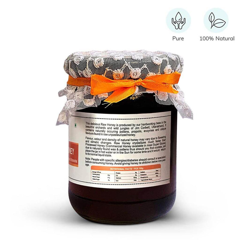Unheated Unprocessed Pure Raw Honey by Farm Naturelle - Buy on Amazon