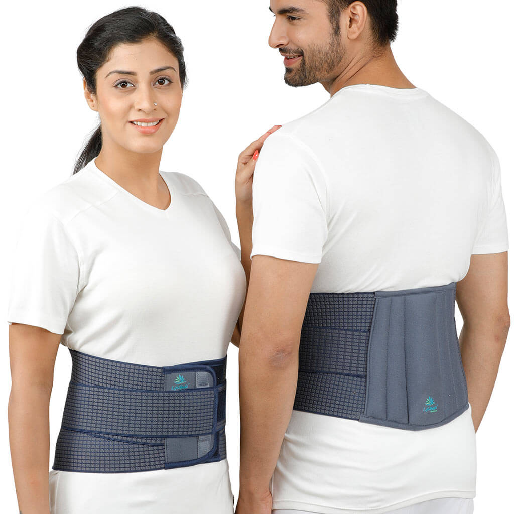 "Abdominal Belt & Tummy Trimmer (8"") - Plus Sizes"