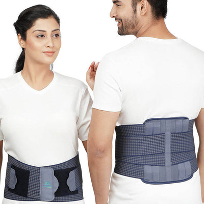 Contoured Lumbo Sacral Support by LifeShield Healthcare (A07BAZ) | order online at heyzindagi.com