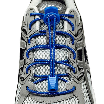 No Tie Shoelaces for Runners is available in  Blue  Color