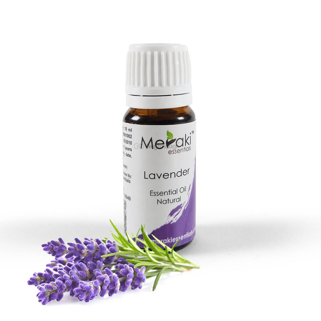 Lavender essential oil (MERKEO10) by meraki essentials | heyzindagi.in- shipping done across India