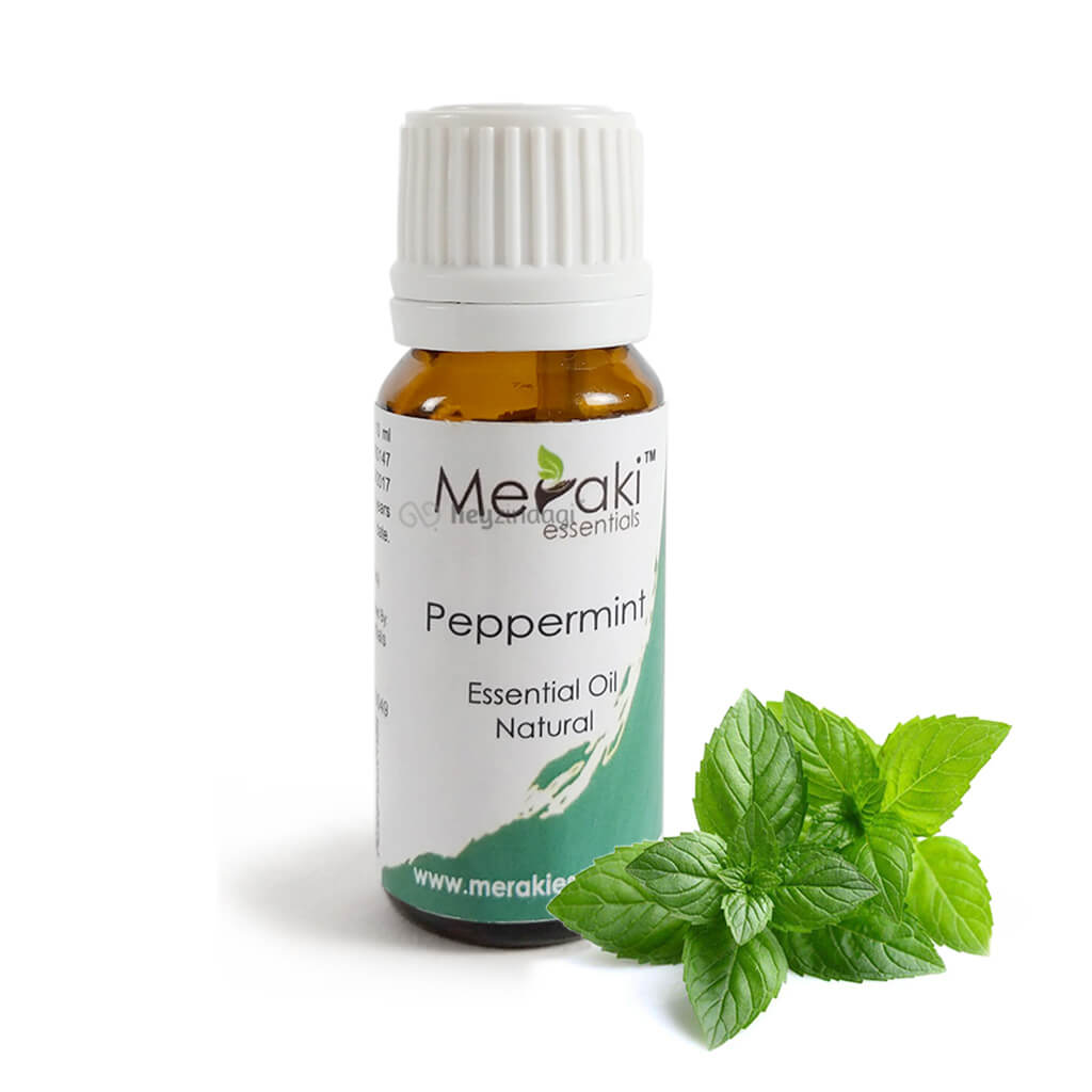 Peppermint Essential Oil (10 ml) - Pure & Alcohol Free