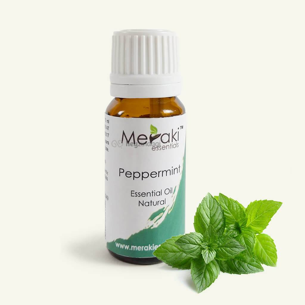 Peppermint essential oil (MERKEO05) by meraki essentials | shop online at heyzindagi.com