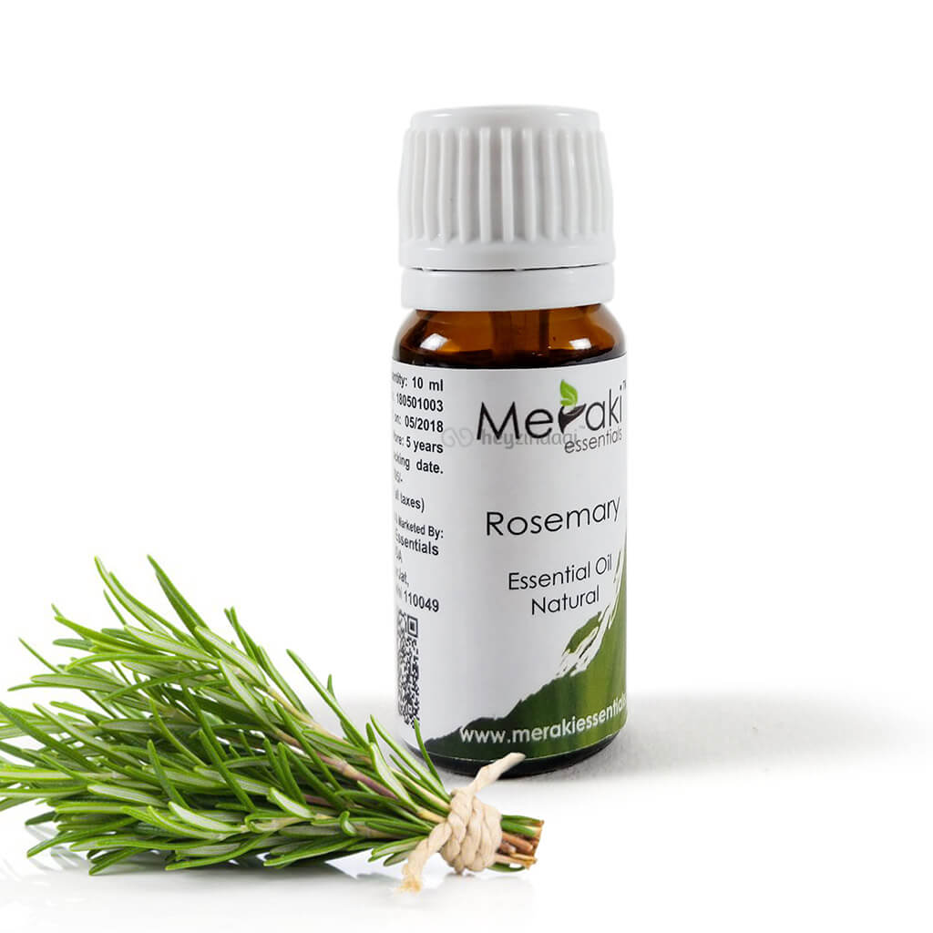 Rosemary essential oil (MERKEO01) by meraki essentials | heyzindagi.in- an online shop for senior citizens