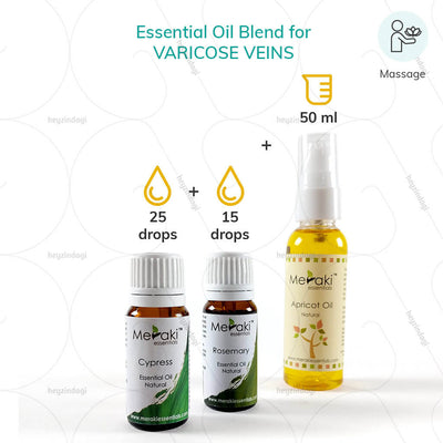 Rosemary Oil (MERKEO01) by meraki essential oil for massage therapy | order online at heyzindagi.com