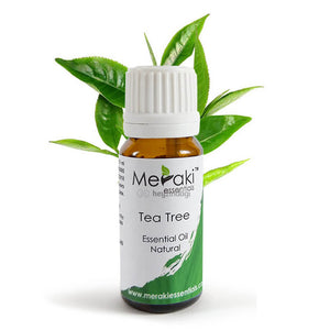 Tea tree essential oil by Meraki Essentials | order online at heyzindagi.in