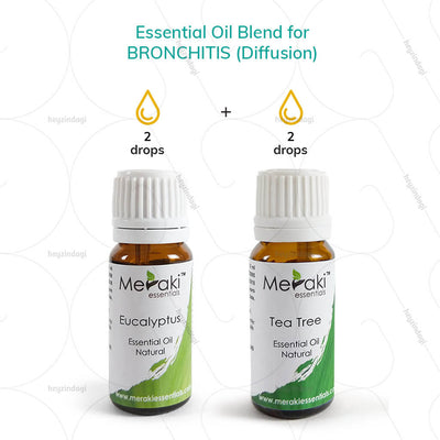 Best tea tree oil by Meraki essentials- use via diffusion or massage therapy | available at heyzindagi.com