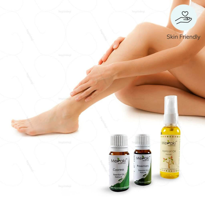 Essential Oil Combo for Varicose Veins (Massage)