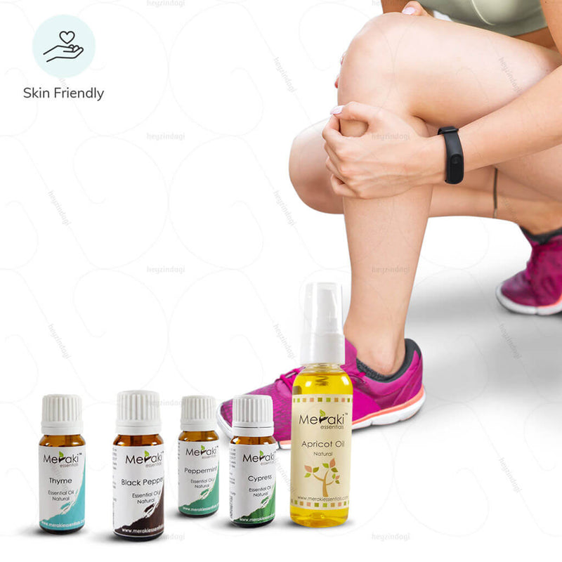 Essential oil combo for Osteoarthritis by Meraki essentials | Available at heyzindagi.in