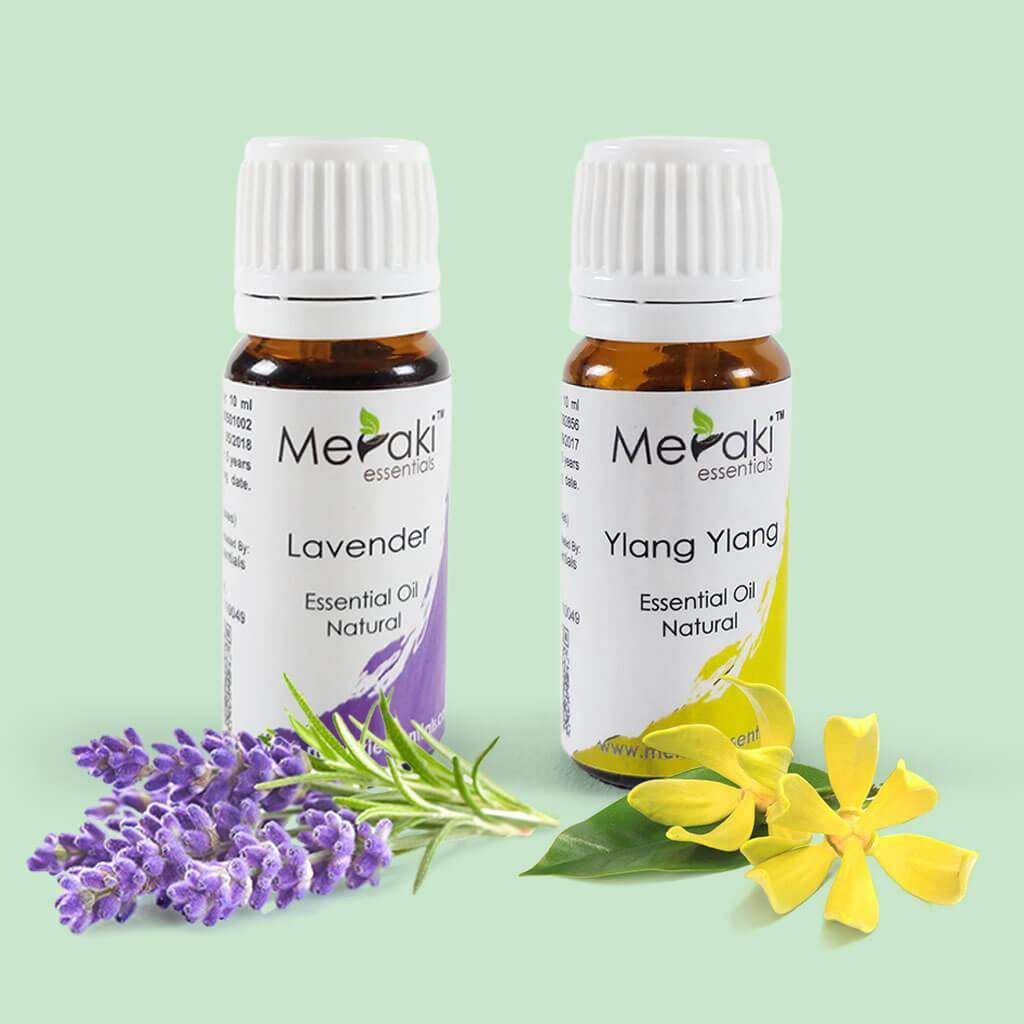 Essential Oil Combo for Hypertension by Meraki | Order online at Heyzindagi.com