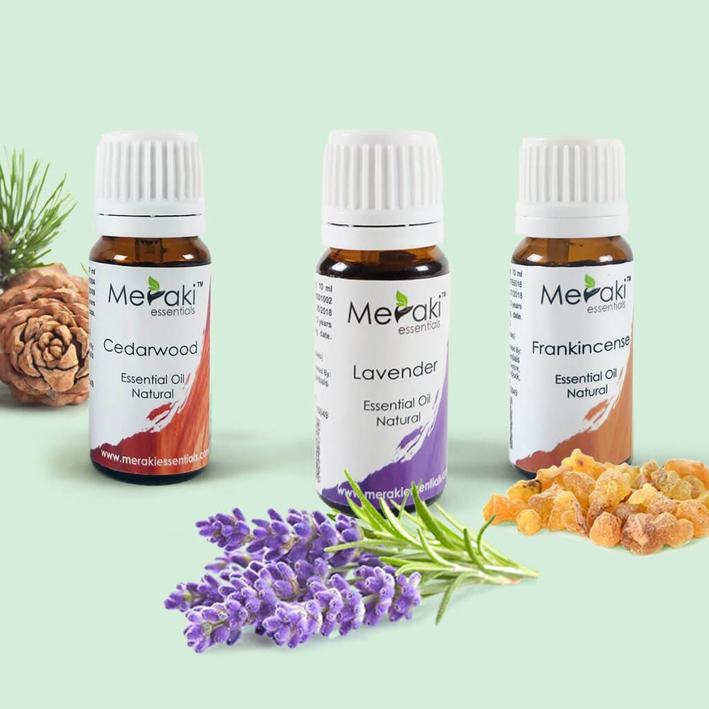 Essential Oil Combo for Insomnia by Meraki | Order online at Heyzindagi.com