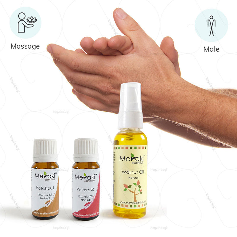 Essential Oil for Skin Dryness - Supple Skin Women / Men by Meraki | Order online at Heyzindagi.com