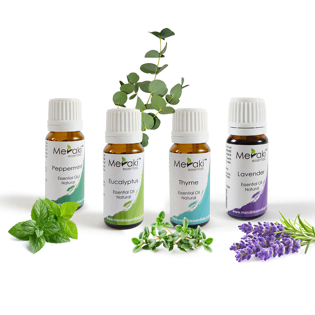 Aromatherapy Essential Oil Combo for Snoring & Sleep Apnea by Meraki Essential | Order online at Heyzindagi.com
