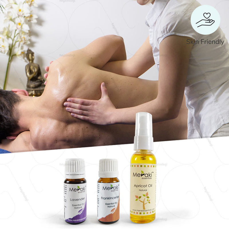 Aromatherapy Essential Oil Combo for Stroke or Paralysis by Meraki | Order online at Heyzindagi.in