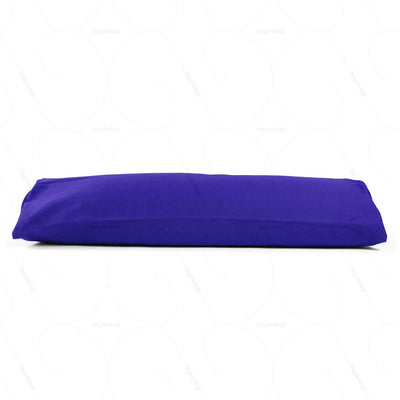 Buckwheat Hull Bolster Cushion Grape (NUBC01) by Nutribuck India