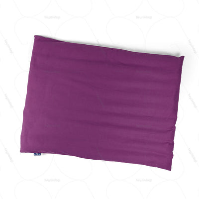 Buckwheat Hull Yoga Cushion Purple (NUYM01) by Nutribuck India