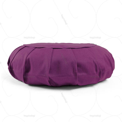 Buckwheat Hull Zafu Meditation Cushion