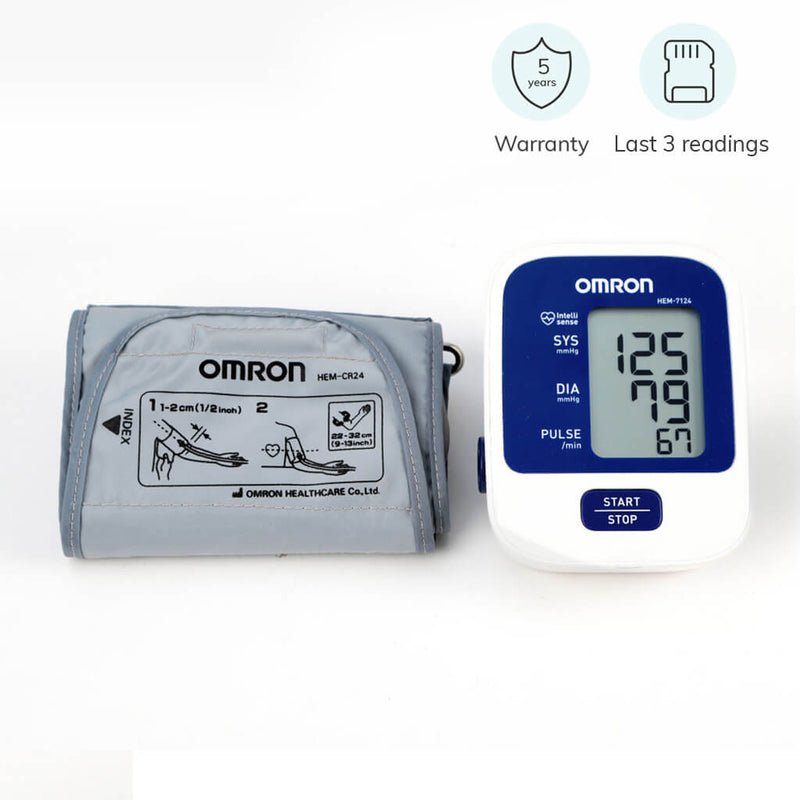 Essential automatic blood pressure monitor (HEM-7124) by Omron Japan | www.heyzindagi.com