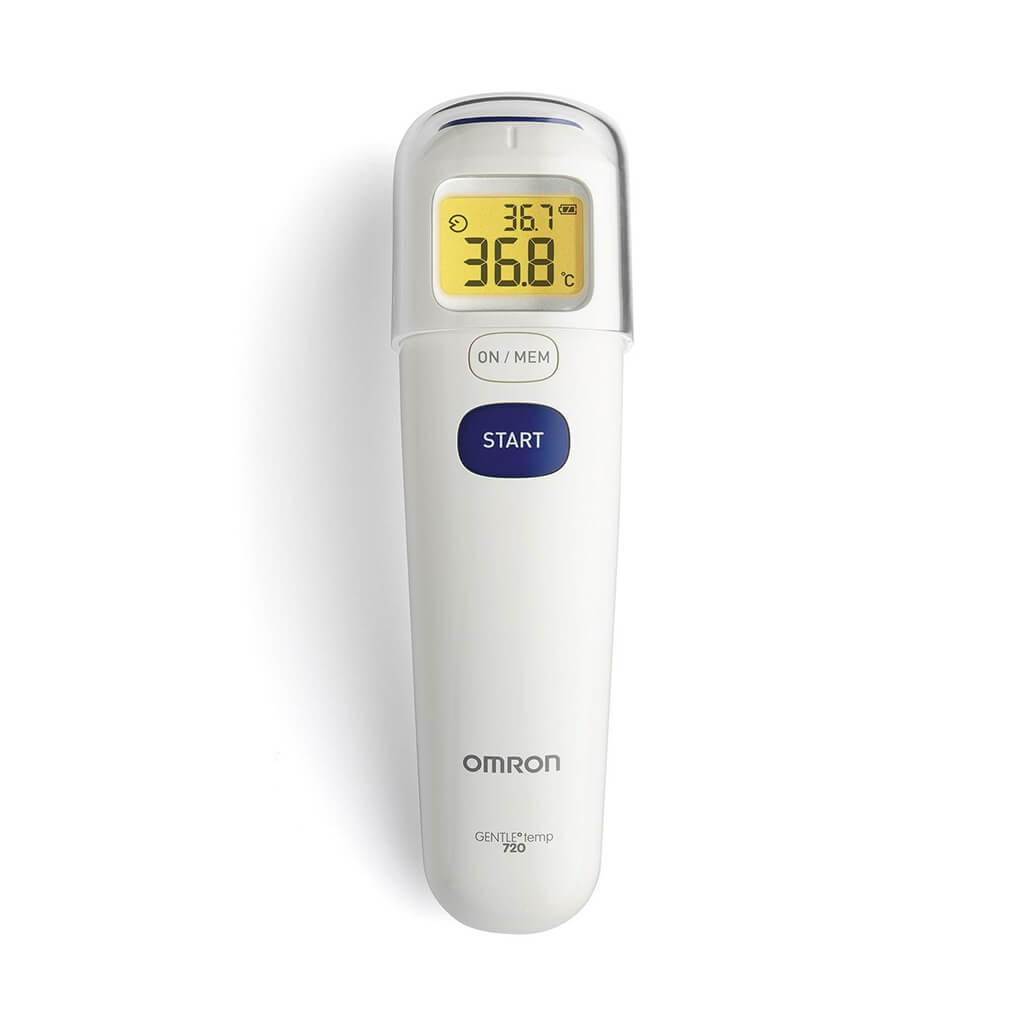 Non contact forehead thermometer (MC-720) by Omron Japan | available at heyzindagi.com