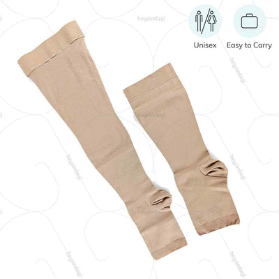 Compression socks for varicose veins by Ontex medical India. Suitable for both men & women. Easy to carry while on move | Heyzindagi.in- Shipping available all over India