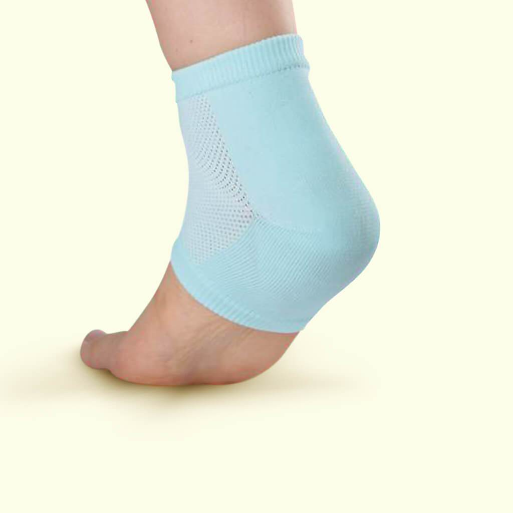Pure Cotton Gel Heel Socks (with Oil-based Pad)