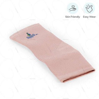 Easy to wear ankle sleeve (2004) by Oppo Medical USA. Skin friendly fleece | heyzindagi.com- shipping done all across India