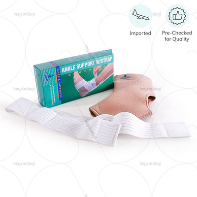 Best ankle support (1003) for extended use. Imported & Pre Checked for quality by Oppo medical USA | www.heyzindagi.com