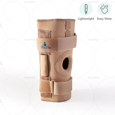 Easy to wear hinged knee brace (1031) by Oppo Medical USA. Lightweight body  | heyzindagi.com- a health & wellness site for differently abled