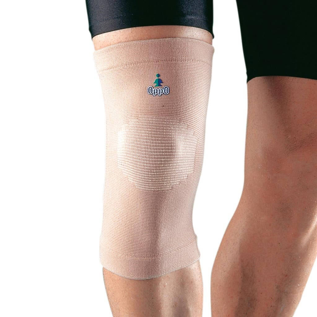 4 way elastic knee support (2022) for knee pain relief by Oppo Medical USA | shop at heyZindagi.in