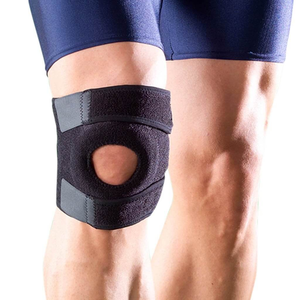 Knee Support With Open Patella 1125 (CoolPrene) by Oppo medical USA | heyzindagi.com