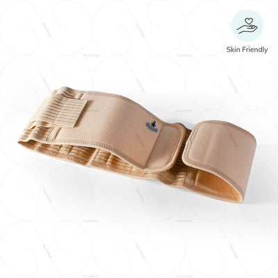 Sacral support brace (4061) by oppo medical USA. Suitable for all skin type | shop online at heyzindagi.com
