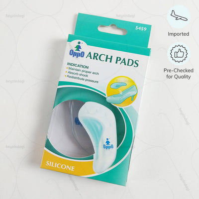 Medial arch support (5459) to prevent arch pain. Imported & Pre Checked for quality by Oppo Medical USA | heyzindagi.in- shipping done all over India