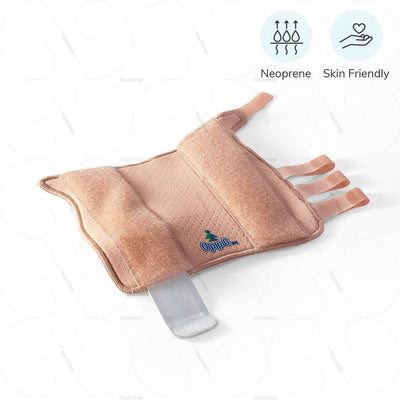 Oppo Wrist Splint (1082) made of breathable neoprene- Skin friendly material for an improved blood circulation & to keep the skin dry | order oinline at heyzindagi.in