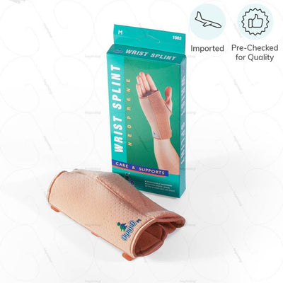 Imported & Pre Checked for quality wrist protector (1082) by Oppo medical USA- for an adjustable compression on either hand | heyzindagi solutions- an online shop for elders & differently abled