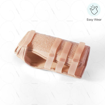 """Easy Wear Carpal tunnel syndrome splint (1082) by Oppo medical- wrap around design to ensure quick wearing & removal 