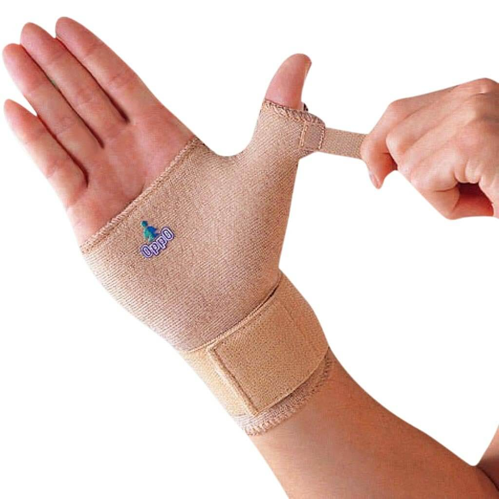 Wrist & thumb support (1084) available in the S,M,L or XL Size - by Oppo Medical USA  | Order online at Heyzindagi.com