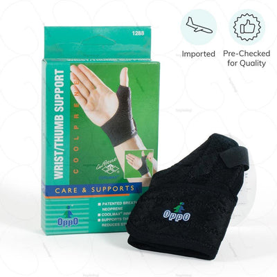 Pre checked for quality & Imported thumb support (1288) by Tynor India- ideal for prolonged use | available at heyzindagi.com