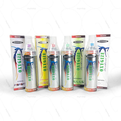 Concentrated Pure Oxygen Can (SMSMOXYC) by Oxygize India