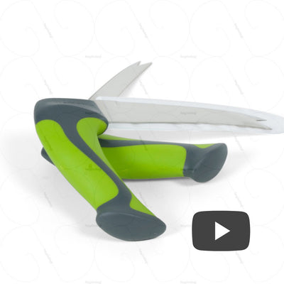 "View video of the Easi-Grip All Purpose Knife Collection (PKT2-VK) on heyzindagi.in <iframe width=""560"" height=""315"" src=""https://www.youtube.com/embed/Xs-xID64Zow?rel=0"" frameborder=""0"" allow=""autoplay; encrypted-media"" allowfullscreen></iframe>"