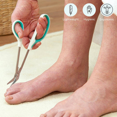 Lightweight toenail scissor (PTC-3) by Peta UK. Comes with 2 year guarantee | Heyzindagi Solutions for senior citizens