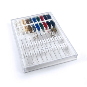 Pre-Threaded Needle Kit (NEINPN08) by Pony Needles India