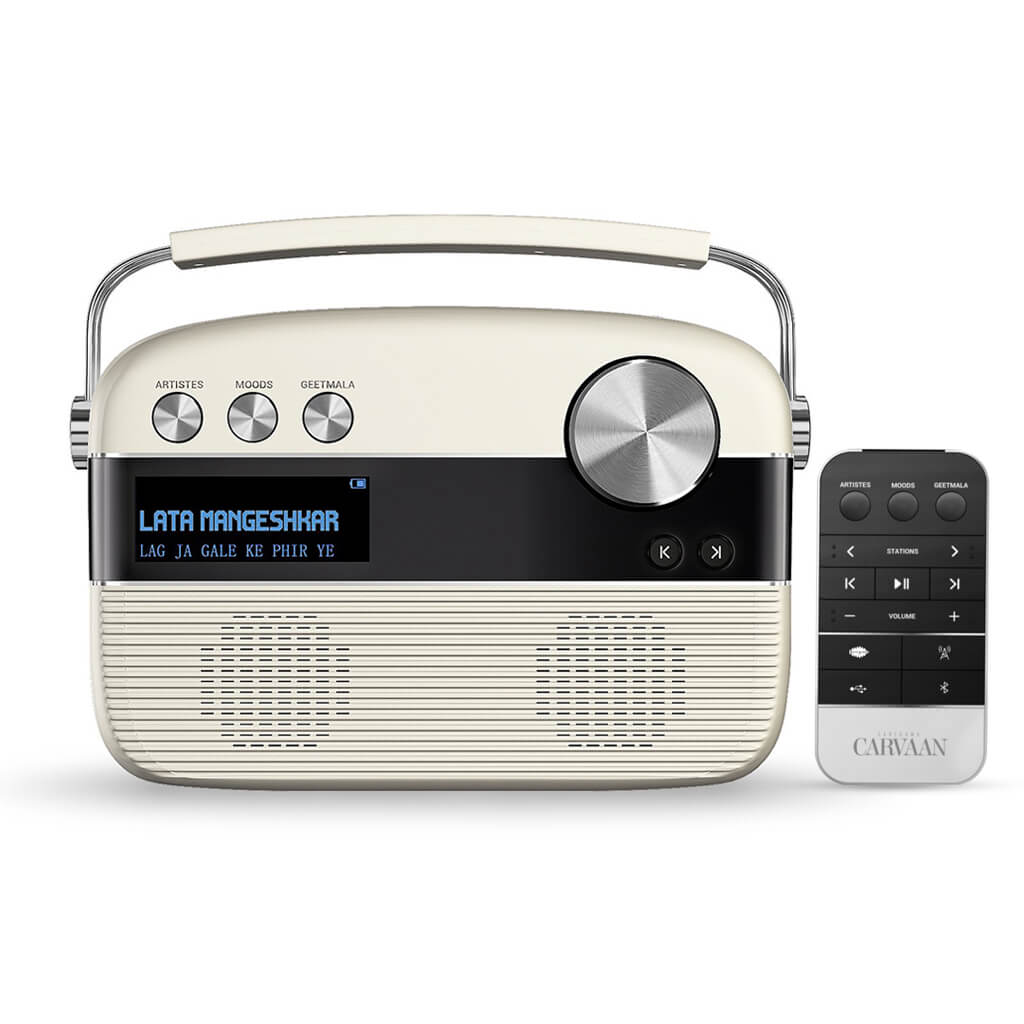 Carvaan Hindi (Music Player & FM Radio with Remote)