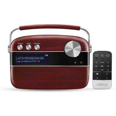 Caravaan (Digital Music Player/FM Radio with Remote) (SRGMCR) by Saregama India