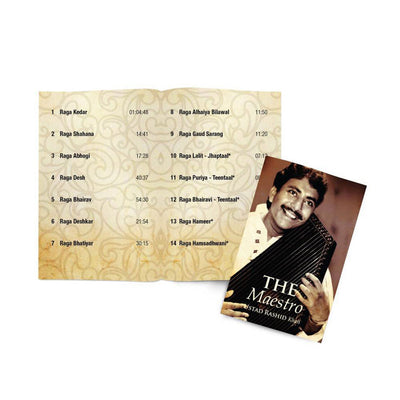 The Maestro - Ustad Rashid Khan Hindustani Classical Music USB Card  (SMMC13) by Sony Music | www.heyzindagi.com