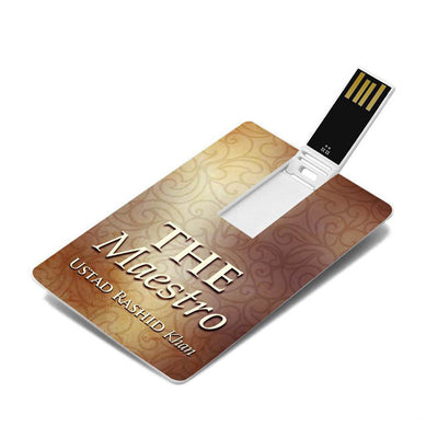 The Maestro - Ustad Rashid Khan MP3 Classical Songs Music USB Card (SMMC13) by Sony Music | Shop at Heyzindagi.com